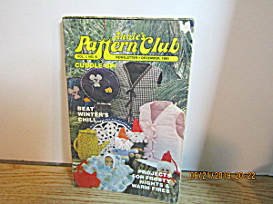 Annie's Pattern Club Newsletter Dec 1980 Vol. 1 #6