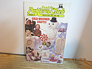 Annie's Pattern Club Newsletter Dec/jan 1986 #36