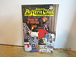Annie's Pattern Club Newsletter Dec/jan 1987 #42
