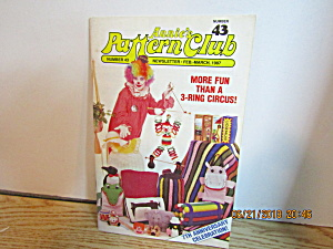 Annie's Pattern Club Newsletter Feb/march 1987 #43