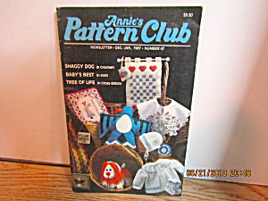 Annie's Pattern Club Newsletter Dec/jan 1987 #47