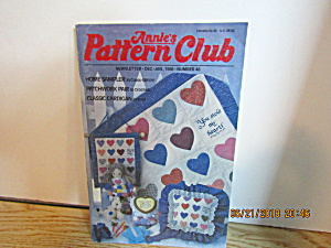 Annie's Pattern Club Newsletter Dec/jan 1988 #48