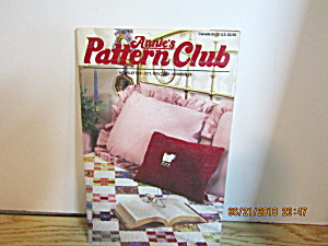 Annie's Pattern Club Newsletter Oct/nov 1988 #53