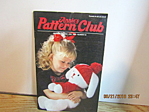 Annie's Pattern Club Newsletter Dec/jan 1989 #54