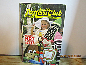 Annie's Pattern Club Newsletter Aug-sep 1981 Vol. 2 #4