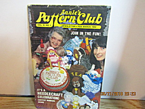 Annie's Pattern Club Newsletter Feb-mar 1982 Vol.3 #1