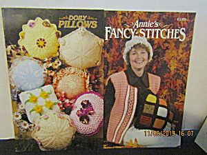 Annie's Booklets Doily Pillows & Quick & Fancy Stitches