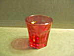Vintage Heritage Pink/rose Depression Shot Glass