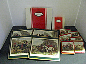 Vintage Pimpernel Place Mats& Coasters Sets
