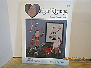 Artists Collection Heartstrings Santa Times Three #58