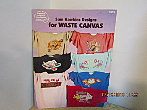 ASN Sam Hawkins Designs For Waste Canvas  #3535 (Image1)