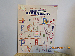 Asn Sam Hawkins Designs Cross Stitch Alphabets #3536
