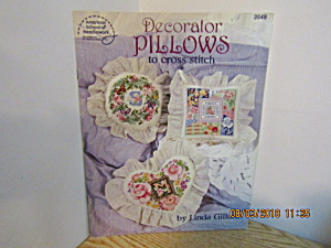 Asn Decorator Pillows To Cross Stitch #3549