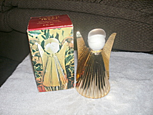 Vintage Avon Golden Angel Someware Bath Oil