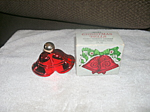 Vintage Avon Christmas Bells Sweet Honesty Cologne