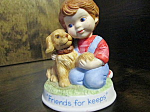 Avon Tender Memories Figurine Friends For Keeps