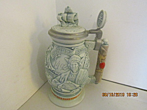 Vintage Avon Christopher Columbus New World Stein