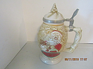 Vintage Avon Father Christmas Stein