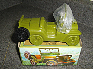 Avon Vintage Army Jeep Wild Country
