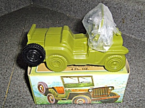 Avon Vintage Army Jeep Spicy