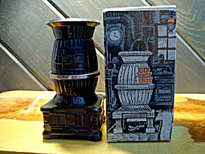 Avon Pot-belly Stove W/excalibur After Shave