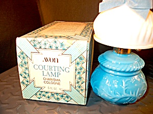 Avon Courting Lamp W/charisma Cologne
