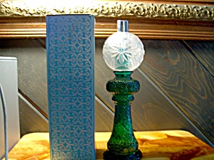 Avon Mansion Lamp W/ Moonwind Cologne