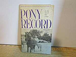 Pony Records Vol. 7 #2 March/april 1964