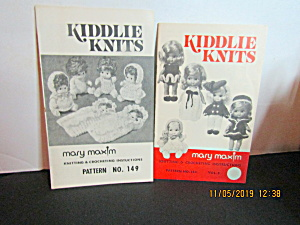 Vintage Booklet Mary Maxim Kiddlie Knits #149 & #144