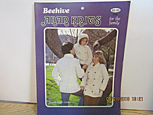 Vintage Booklet Beehive Aran Knits For The Family #506