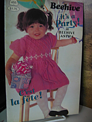 Beehive It's A Party Booklet # 455