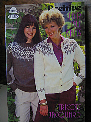 Beehive Fair Isle Knits Booklet #7435