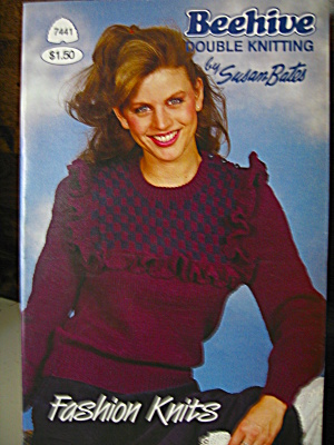 Beehive Double Knitting Fashion Knits Booklet #7441