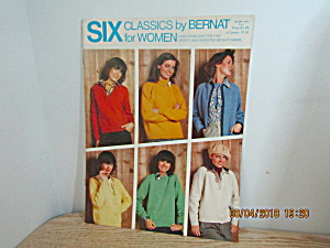 Bernat Six Classics For Women's Sweaters #137