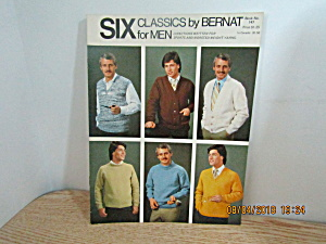 Bernat Six Classics For Men's Sweaters #147