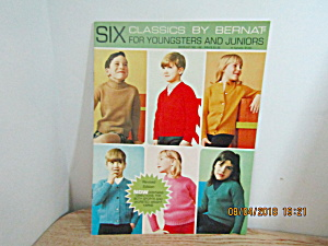 Bernat Six Classic Sweaters For Children #148