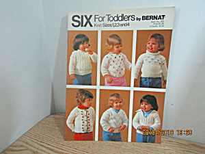 Bernat Six Classic Sweaters For Toddlers #252