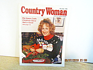 Craft Magazine Country Woman Nov/dec 1998