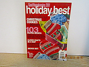 Good Housekeeping 2001 Holiday Best Magazine