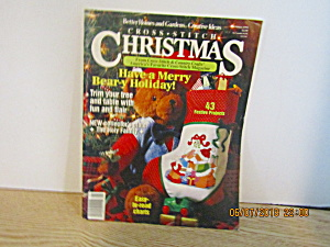 Better Homes & Gardens Cross Stitch Christmas 1991