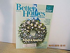 Better Homes & Gardens Magazine December 2012