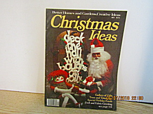 Better Homes & Gardens Creative Christmas Ideals 1977