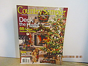 Country Sampler Decorating Ideals Deck The Halls 2010