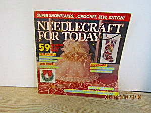 Craft Magazine Needlecraft For Today Nov/dec 1984