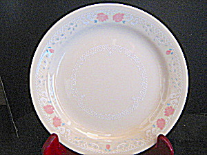 Corelle Blossoms In Lace Dinner Plate