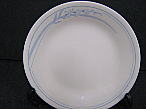 Corelle Blue Lily Bread/butter Plate