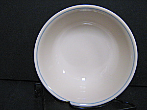 Corelle Blue Lily Cereal Bowl