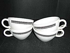 Corelle Bolero Set Of 4 Tea/coffee Cup