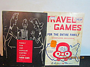 The Family Travel Games & Parker Party Games Set