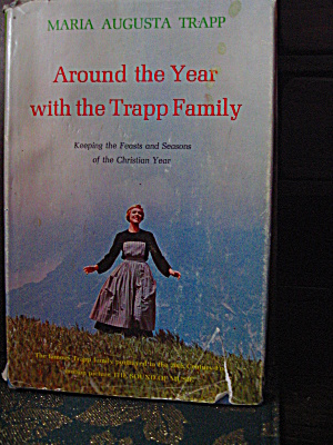 Book Around The Year With The Trapp Family